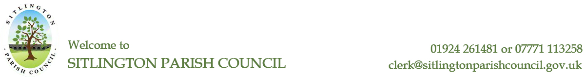 Header Image for Sitlington Parish Council